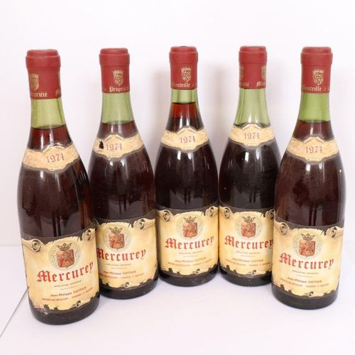 "LOT 5 BTES ""MERCUREY"" 1974"