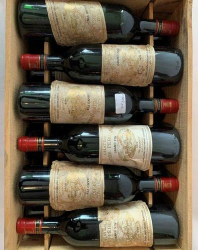 "12 BTES ""CHÂTEAU LAROSE PERGANSON"" Haut Médoc 1979  Abraded labels  High shoulde…"