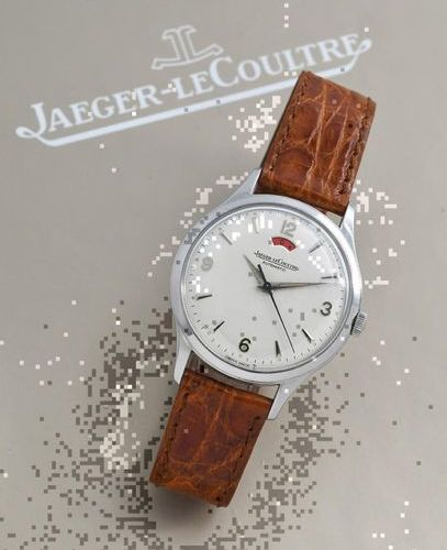 JAEGER LE COULTRE JAEGER LE COULTRE (Power reserve / Large opening), circa 1954 …