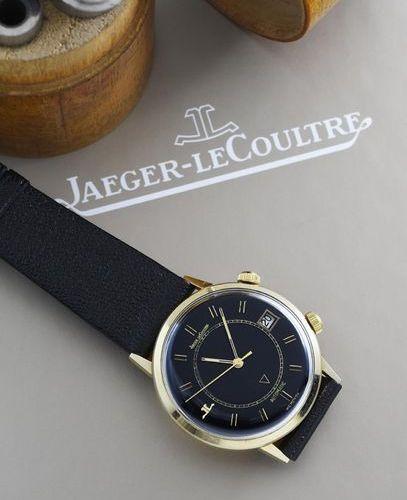 JAEGER LECOULTRE JAEGER LECOULTRE (Memovox automatique Cadran Black / US Market …