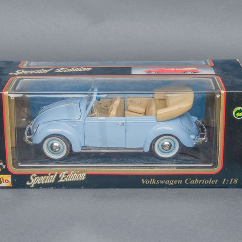 MAISTO, Modèle réduit Volkswagen cabriolet 1951, échelle 1/18  Dans sa boîte d'o…