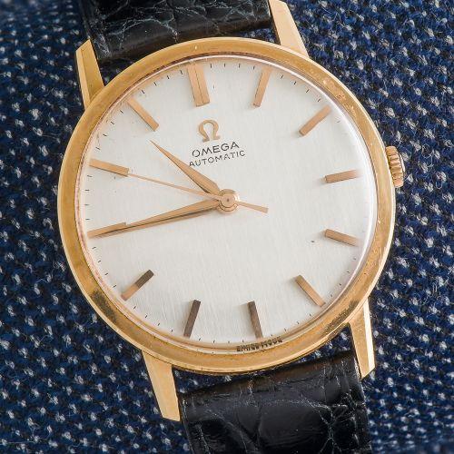 OMEGA Montre bracelet classique en or jaune 18 carats (750 ‰), boîtier rond mono…