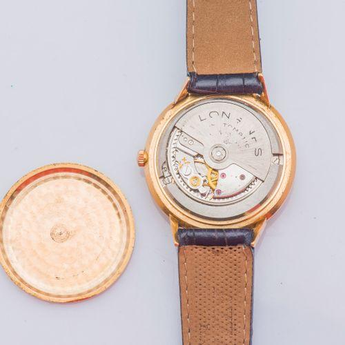 LONGINES Montre classique modèle Flagship en or jaune 18 carats (750 ‰), boîtier…