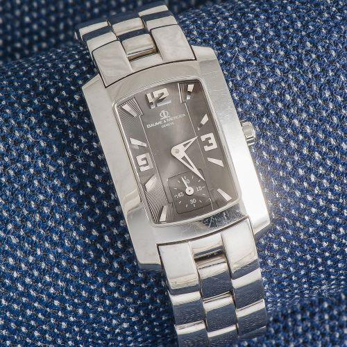 BAUME & MERCIER, vers 2000 Montre de forme modèle Hampton Milleis de forme recta…