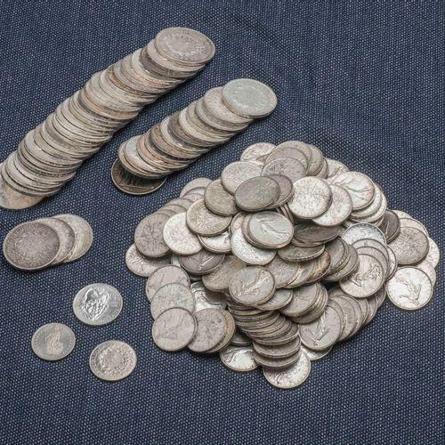 Lot de pièces en argent comprenant : 1 pièce commémorative 100 Francs André Malr…
