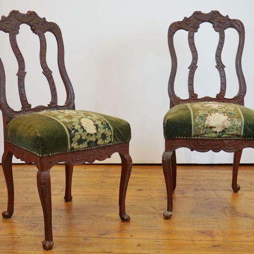 2 period Liège chairs