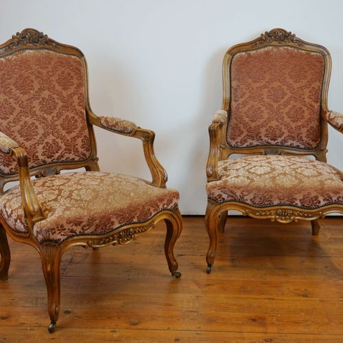 Pair of stylish armchairs