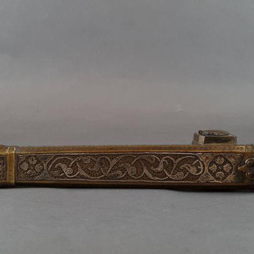 Iranian inkwell. L : 24 cm