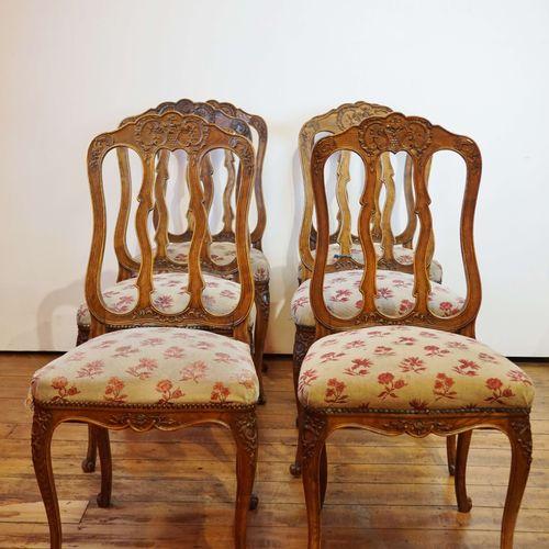 6把列日风格的椅子