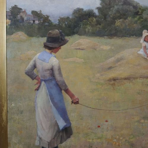 STANHOPE FORBES Elizabeth Adela (1859 1912) Huile sur toile monogrammée EA pour …