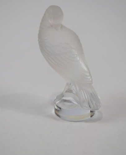 LALIQUE France A turtledove in its box