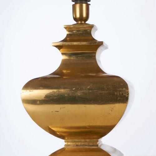 A brass lamp M+D circa 1980 H : 52