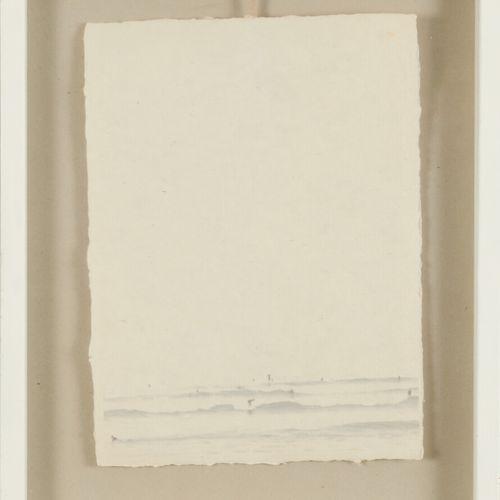 """""""La plage""""  Lithographie 37 x 28 cm"""