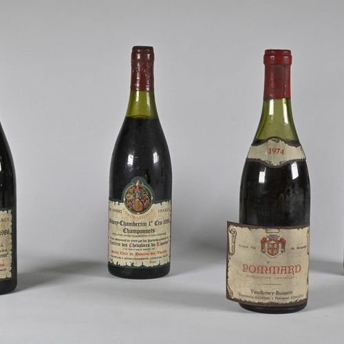 3 B GEVREY CHAMBERTIN LA ROMANÉE TASTEVINÉ (1er Cru) 1 à 3 et 2 à 3,5 cm; c.S. P…