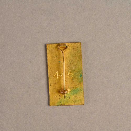 France Insigne Commandant Detroyat  Fabrication Londres, en métal et émail, matr…