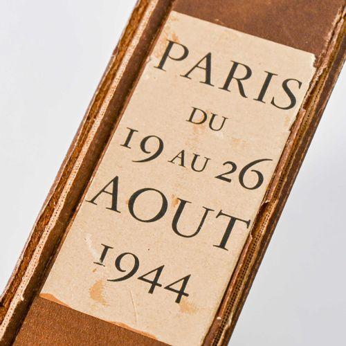 """France Livre """"PARIS du 19 au 26 août 1944""""  Numéroté 374 sur 500"""