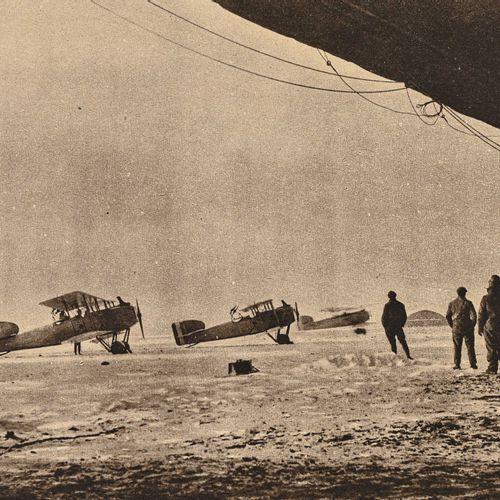 France Lot de trois Illustration sur l'aéronautique militaire  L'un de 1918 et d…