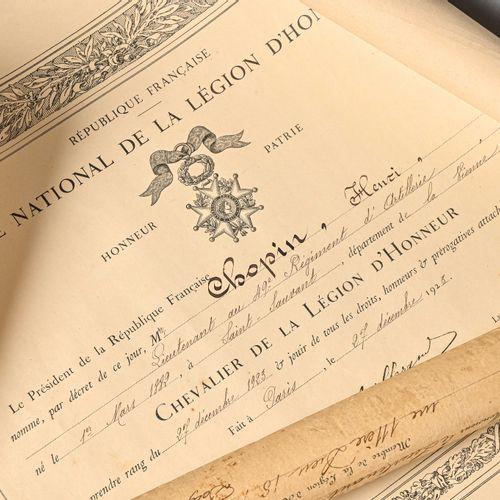 FRANCE XXème siècle Ordre de la Légion d'honneur,  institué en 1802.