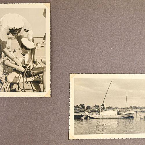 FRANCE et Indochine Album photos des scouts marins en Indochine offert au vice A…
