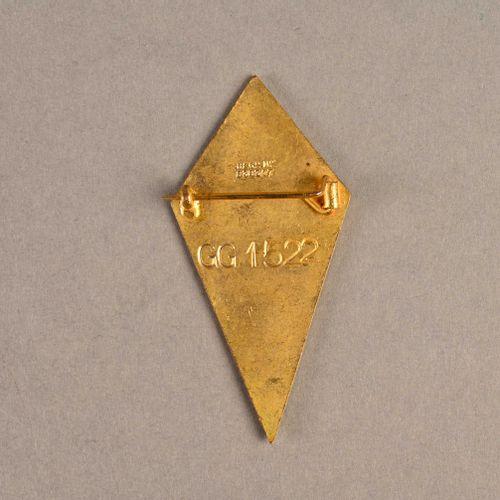 France Perchoir FNFL ayant appartenu à l'amiral Ortoli  En métal et émail, fabri…