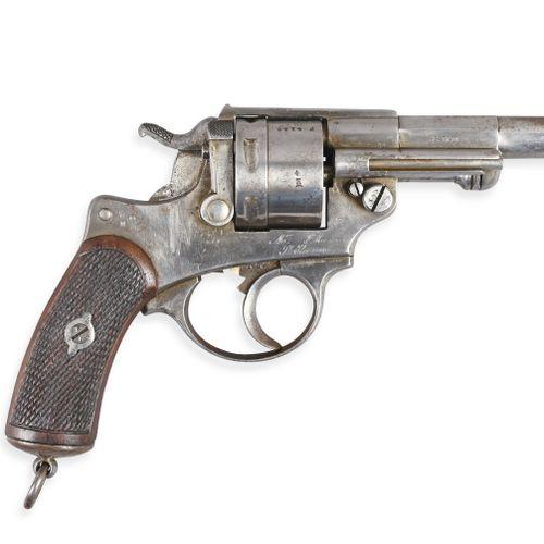 France Revolver 1873  Bâti acier, simple et double action, marqué de la Manufact…