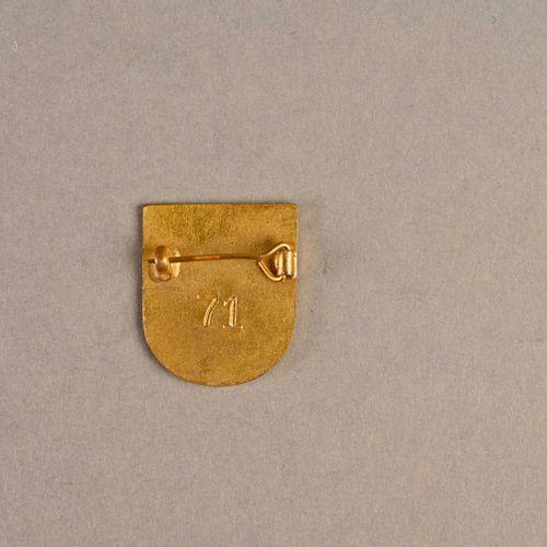 France Insigne FNFL « La Moqueuse »  En métal et émail, fabrication Londres matr…