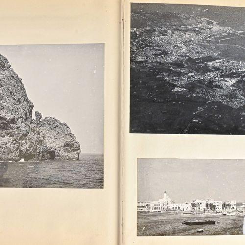 France Album photos époque Guerre d'Algérie ayant appartenu à la soeur de l'Amir…
