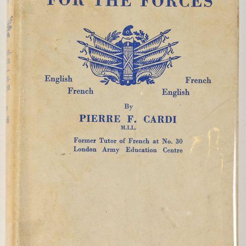 France Dictionnaire « A dictionnary for the force «  Daté 1954, dédicace de l'au…