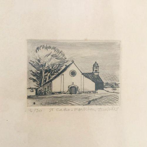 """Marie F. DUVIVIER (XXe siècle)  """"17 ans"""" et """"Saint Cado, Morbihan""""  Deux eaux fo…"""