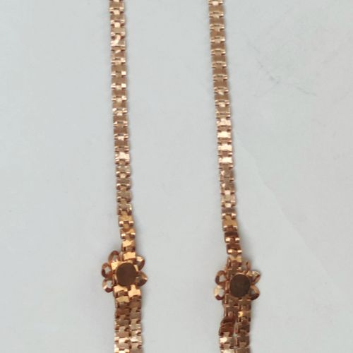NECKLACE in yellow gold 750°/°°, Weight : 25.9 g