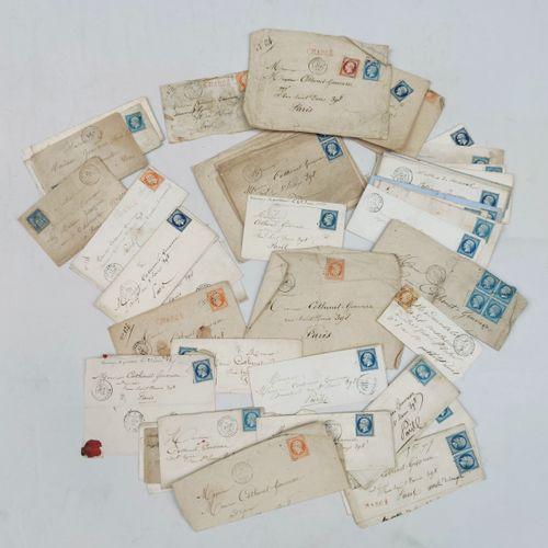 Un album de Lettres Classique avec n°14 dont un bloc de 4, 16 et 17 + Timbres de…