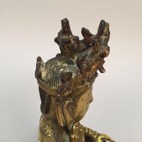 CHINE Epoque MING (1368 1644), XVIIeme siècle Importante statuette de Samanthaba…