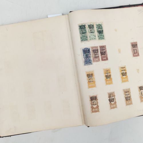 ALBUM de timbres fiscaux d'Uruguay Expert : Monsieur BEHR, 18 Rue Drouot, 75009 …