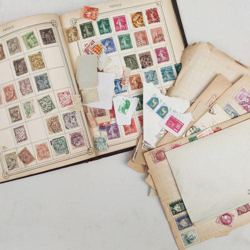 ALBUM de timbres français incomplet avec timbres en vrac Expert : Monsieur BEHR,…