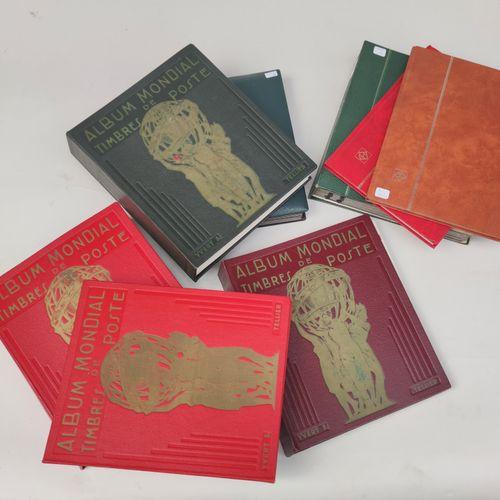 14 albums de Timbres des 5 Continents dont Suisse Abonnement Obl. + Nouveauté de…