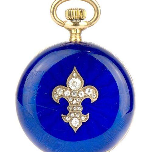 GIRARD PERREGAUX Chaux de Fonds Savonnette watch N° 222064 Médaille d'or Paris 1…