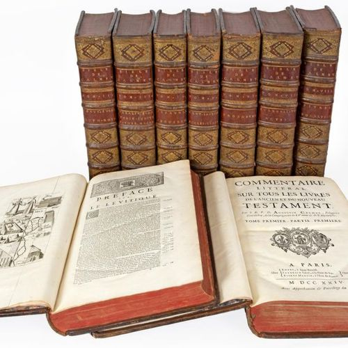 CALMET (Augustin). Literal commentary on all the books of the Old and New Testam…