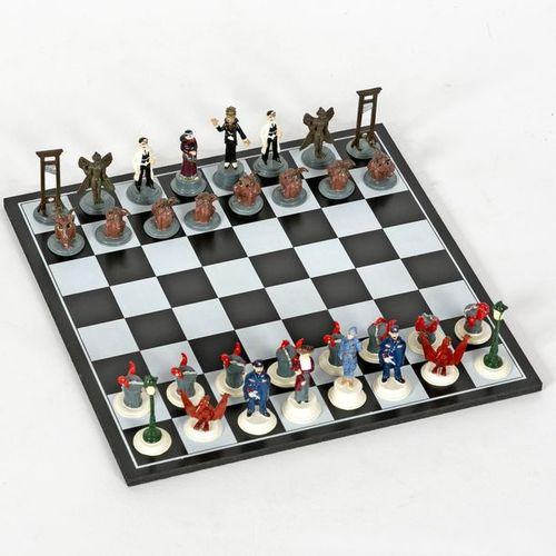 Tardi : PIXI : Adèle Blanc Sec, mini chess set (20106), 1997, 350 copies, BC.