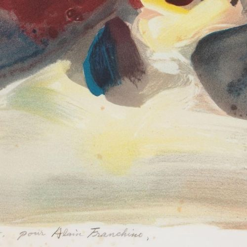 CHU Teh Chun (1920 2014) Composition Colour lithograph Artist's proof signed, an…