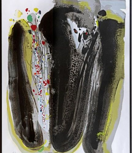 CHU Teh Chun (1920 2014) Universal peace Colour lithograph Signed and numbered 6…