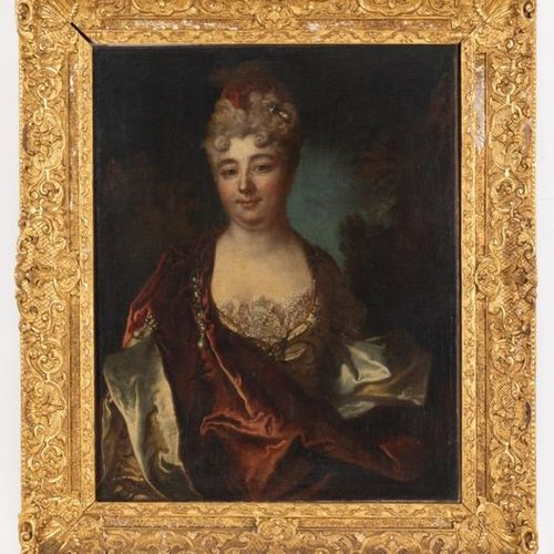 French school, early 18th century Portrait of a lady of quality Oil on canvas ma…