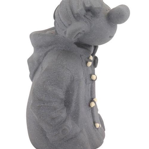 Franquin : LEBLON DELIENNE: Gaston, duffle coat bust (151), 1st versions in grey…