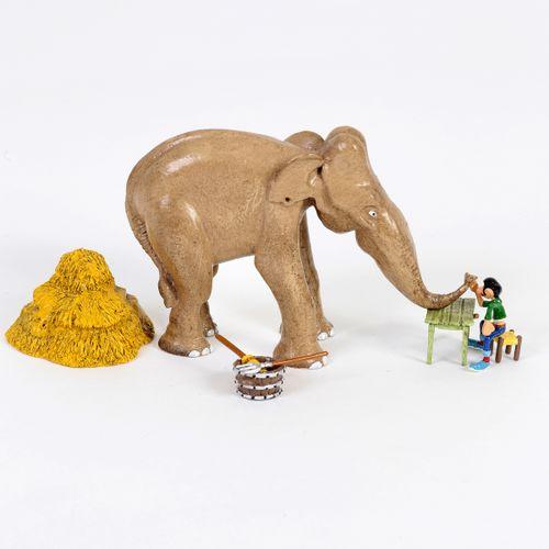 Franquin : PIXI : Gaston mini, the arm wrestling with the elephant, Pixi boutiqu…