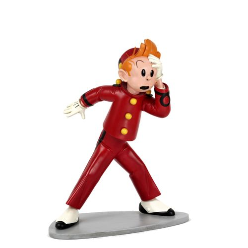 Franquin : EDITIONS REPORTER : Spirou 1956, sculpture by Ribereau Gayon, 1986, n…
