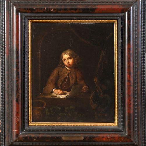 École hollandaise du XVIIIe siècle, suiveur de Gérard DOU (Leyde, 1613 1675) Por…