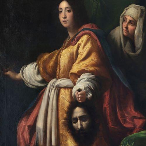 D'après Cristofano ALLORI(Florence,1577 1621),probablement XVIIIe siècle Judi…