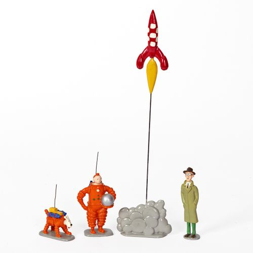 Hergé : PIXI : Tintin, 1ère série, 4591, la grande boite Tintin et Milou cosmona…
