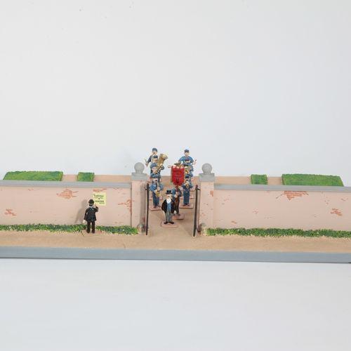 Hergé : MOULINSART PLOMB : Tintin mini série, 46227, la fanfare de Moulinsart, 2…