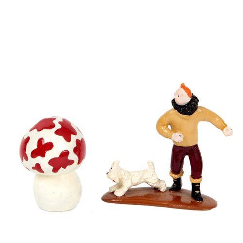 Hergé : PIXI : Tintin, 4517, Milou et le champignon, L'Etoile mystérieuse, 1991,…