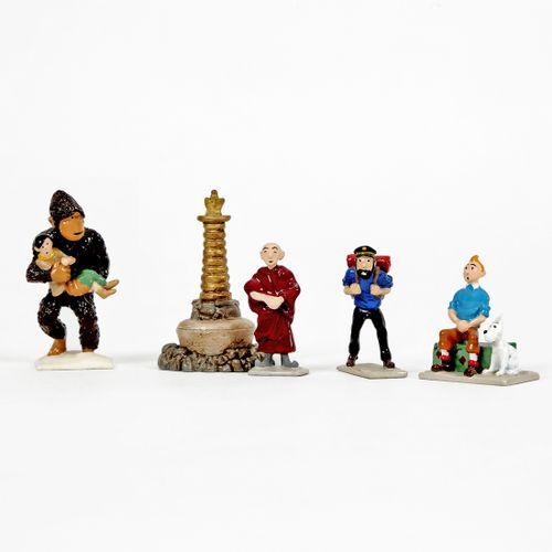 Hergé : PIXI : Tintin, 2108, mini série, Tintin au Tibet, 1994, 2725 ex., 3 cm, …